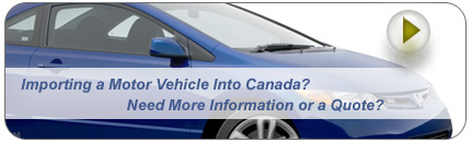 Importing a Motor Vehicle